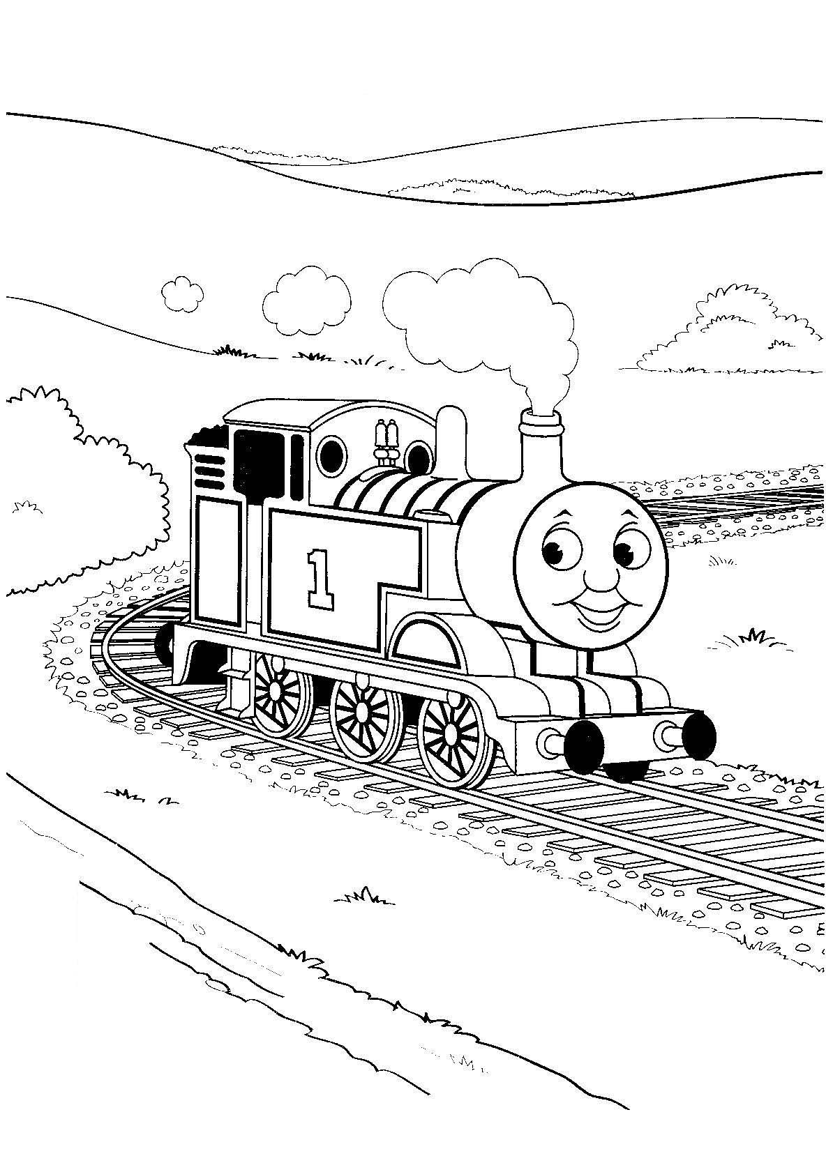 train engine coloring page thomas the tank engine coloring pages gordon thomas the page coloring engine train