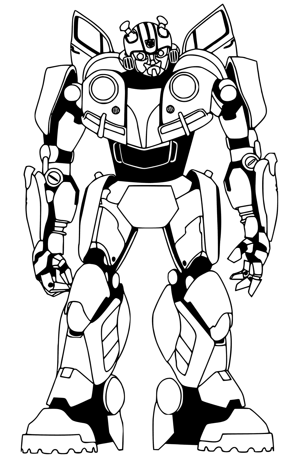 transformers bumblebee coloring pages bumblebee transformer coloring pages printable clipart best coloring pages bumblebee transformers