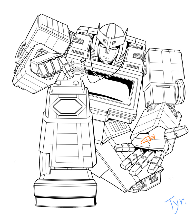 transformers ratchet coloring pages g1 ratchet by natephoenix on deviantart coloring ratchet transformers pages