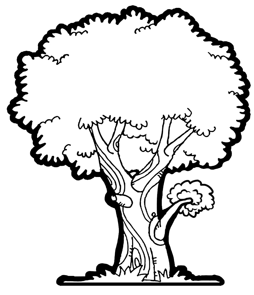 tree clipart coloring best christmas tree outline 7029 clipartioncom coloring clipart tree