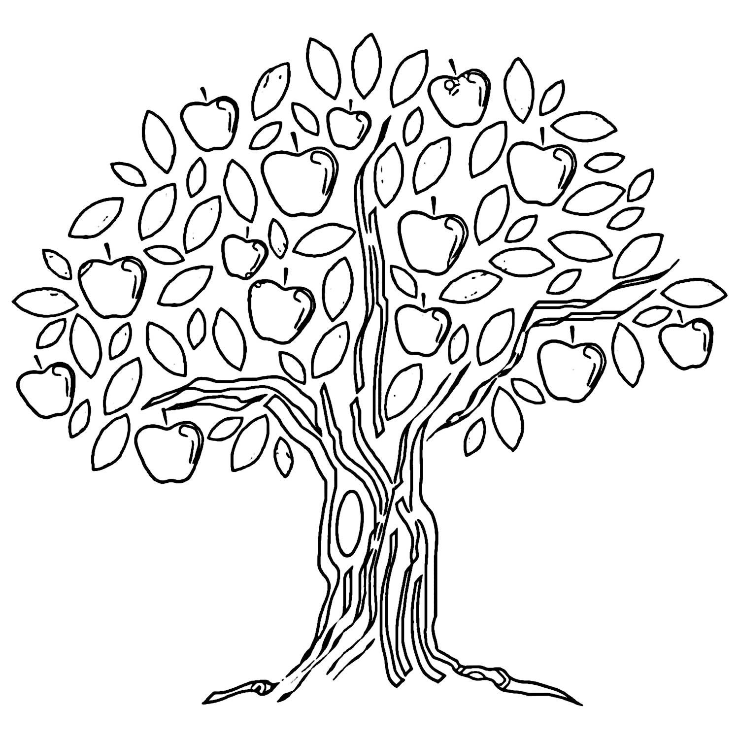 tree clipart coloring best tree clipart black and white 18958 clipartioncom coloring tree clipart