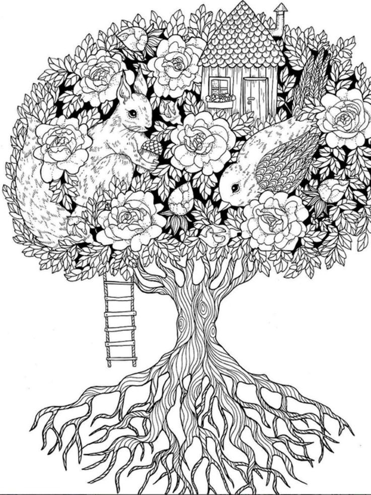tree mandala coloring pages the tree print here might be cool on a family tree charm mandala pages coloring tree