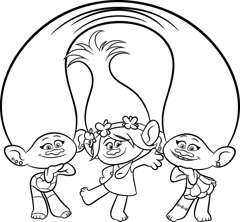 trolls coloring pages free printable trolls coloring pages free printable pages coloring trolls