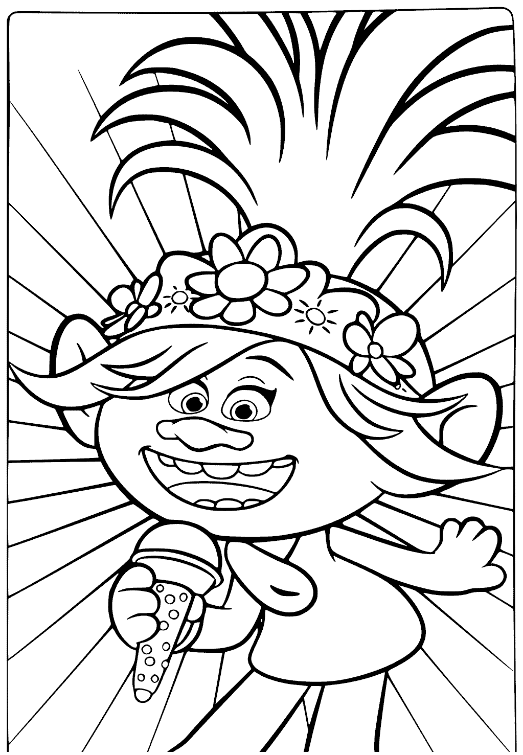 trolls coloring pages trolls movie coloring pages best coloring pages for kids pages coloring trolls