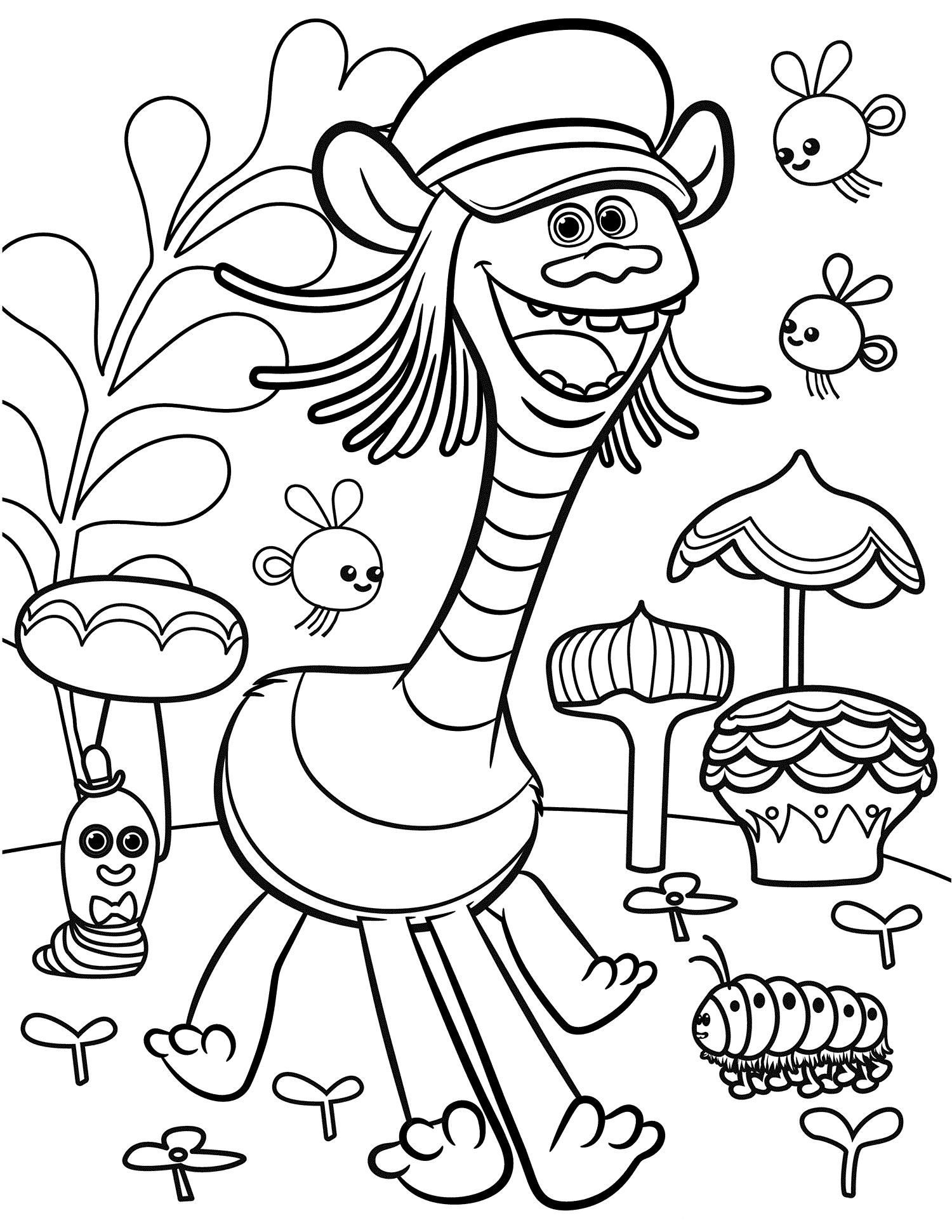 trolls coloring pages trolls movie coloring pages best coloring pages for kids trolls pages coloring