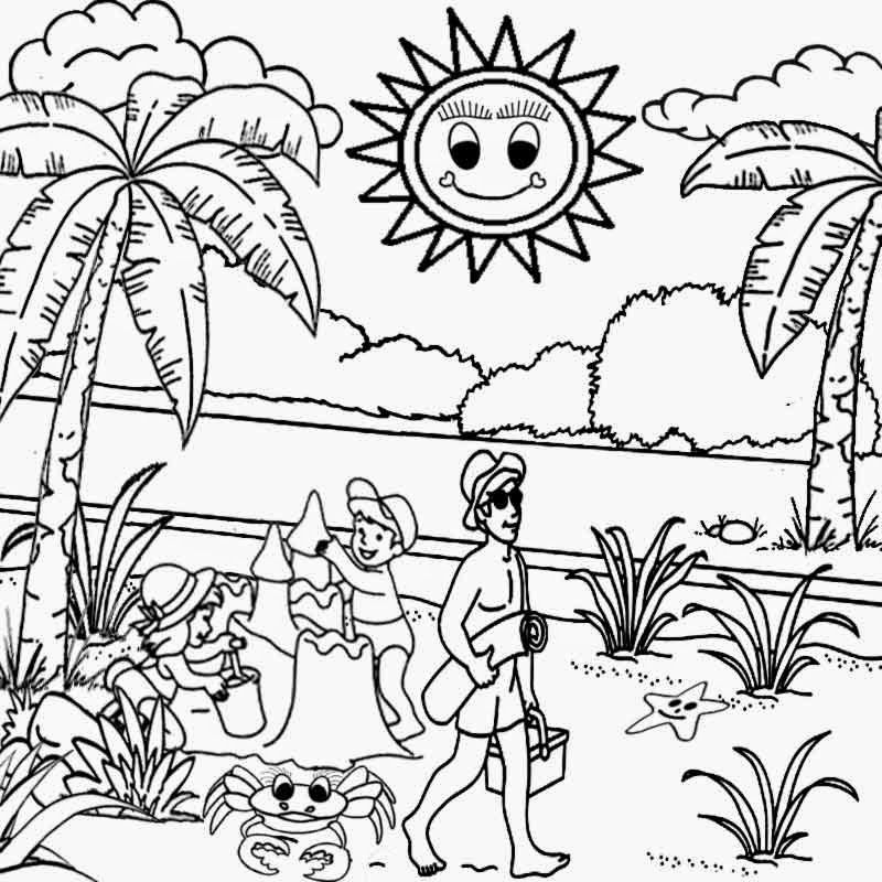 tropical beach coloring pages free coloring pages printable pictures to color kids and coloring tropical pages beach