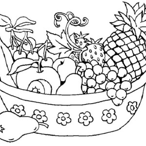 tropical fruits coloring pages pin by laura on colouring pages for adults fruit pages coloring fruits tropical