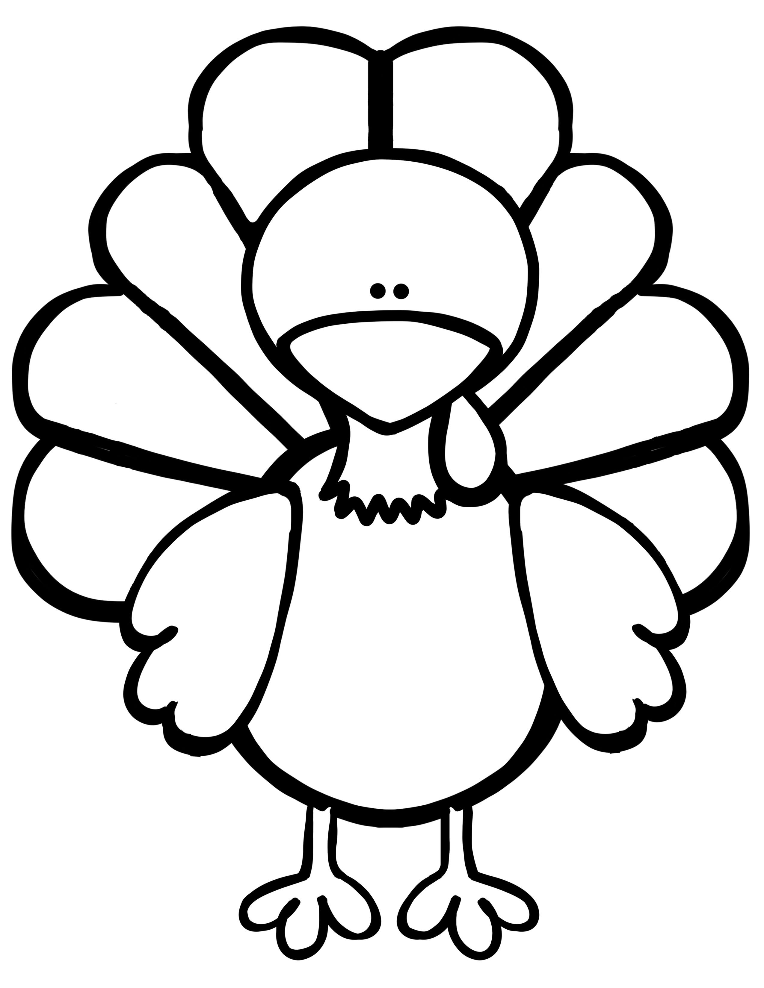 turkey outline turkey drawing outline at getdrawings free download turkey outline