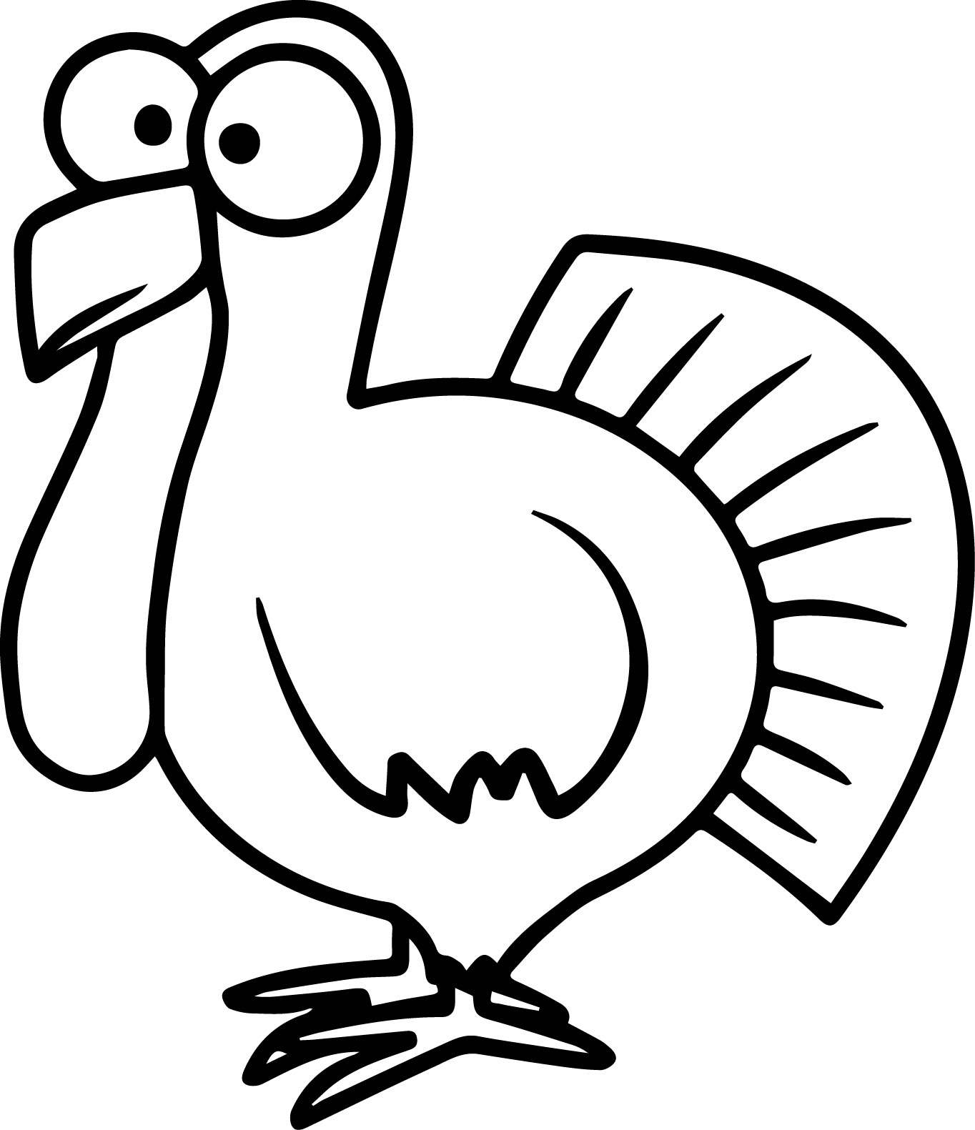 turkey outline turkey template to print neo coloring outline turkey
