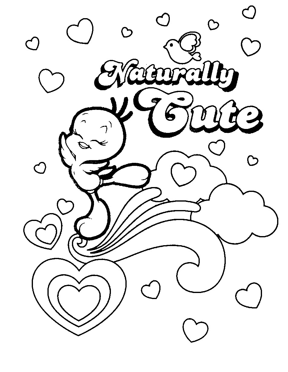 tweety bird coloring pages coloring pages tweety bird free printable coloring pages coloring tweety bird pages