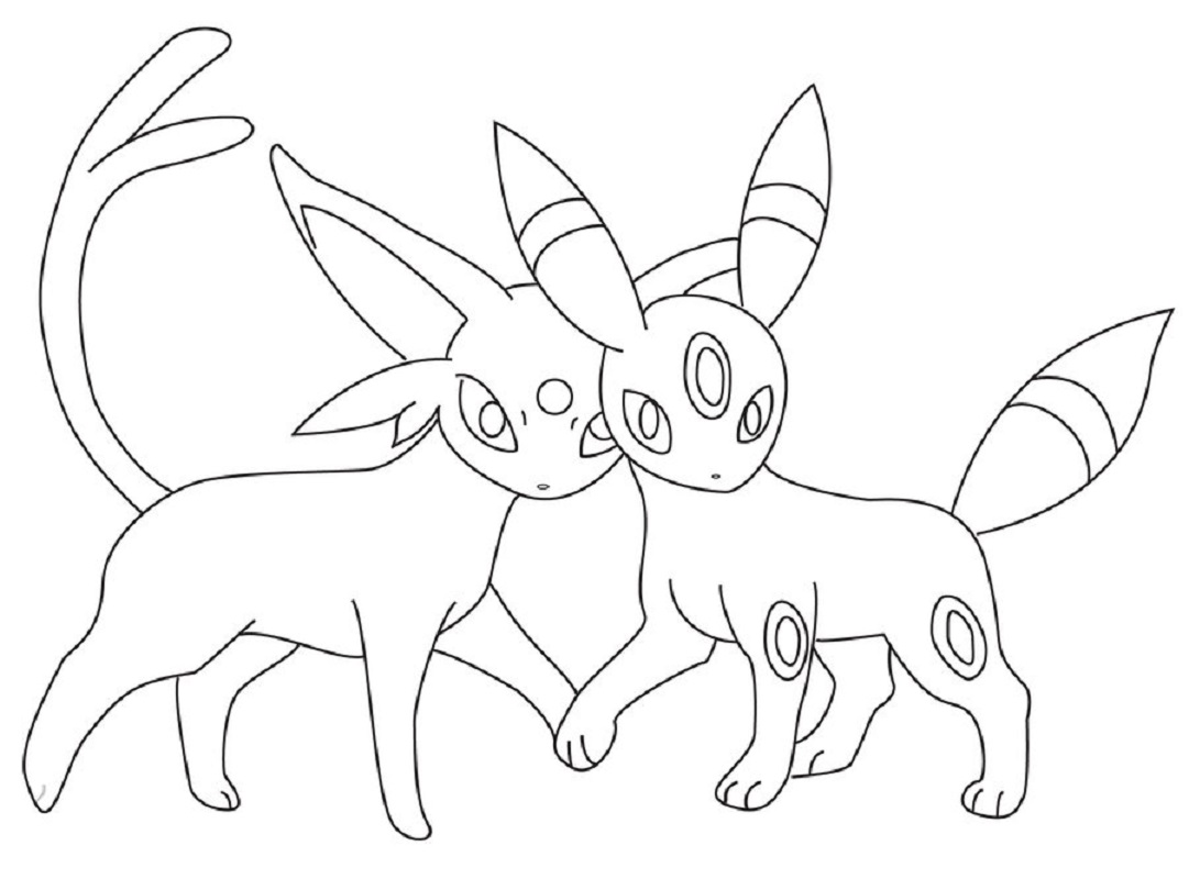 umbreon coloring pages umbreon pokemon coloring pages printable free pokemon umbreon pages coloring