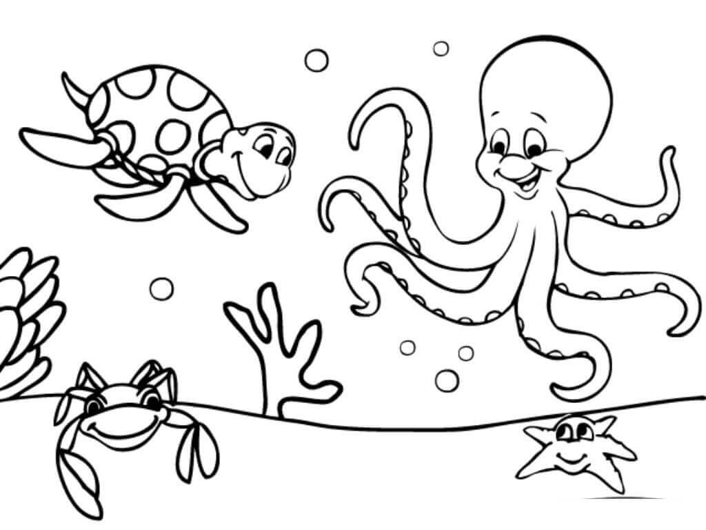 under the sea coloring 97 best under the sea coloring or painting pages images on under coloring the sea