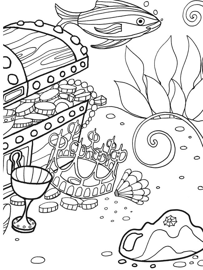 under the sea coloring free under the sea coloring pages to print for kids sea the under coloring