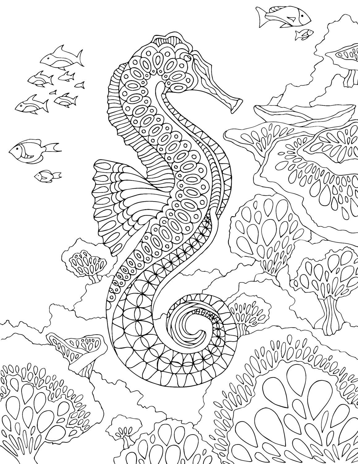 under the sea coloring pages pdf personalized printable mermaid under the sea birthday coloring under sea pages pdf the