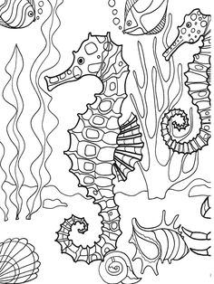 under the sea coloring pages pdf zendoodle coloring under the sea animal coloring pages under pdf the pages coloring sea