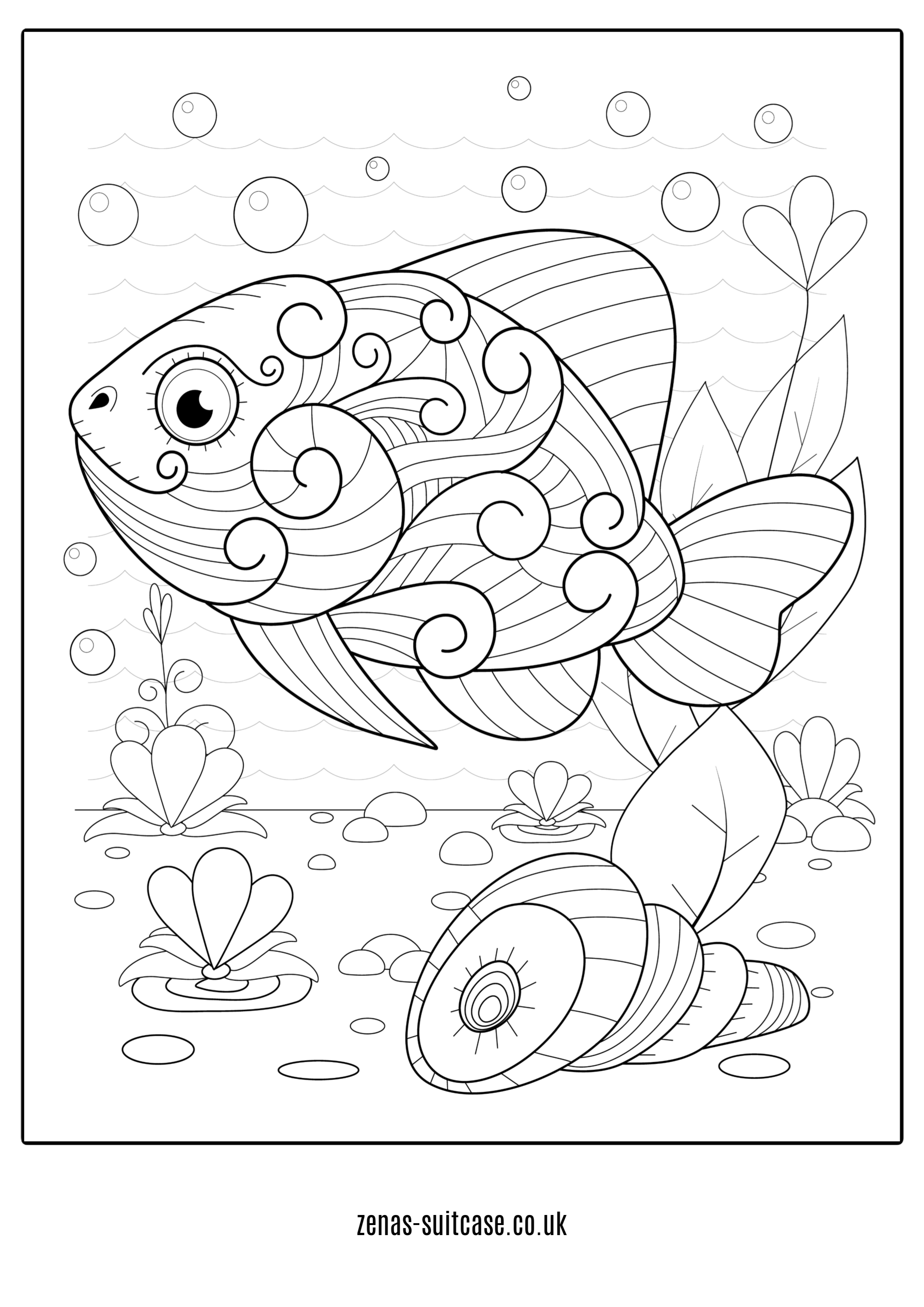 under the sea coloring under the sea coloring pages to download and print for free coloring under the sea