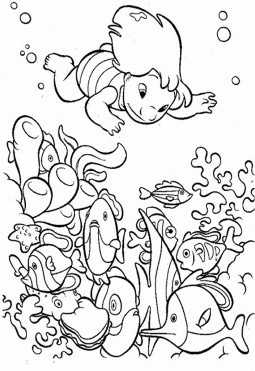 under the sea coloring under the sea coloring pages to download and print for free sea coloring the under