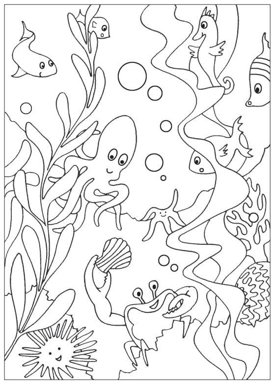 under the sea coloring under the sea coloring pages to download and print for free the sea under coloring