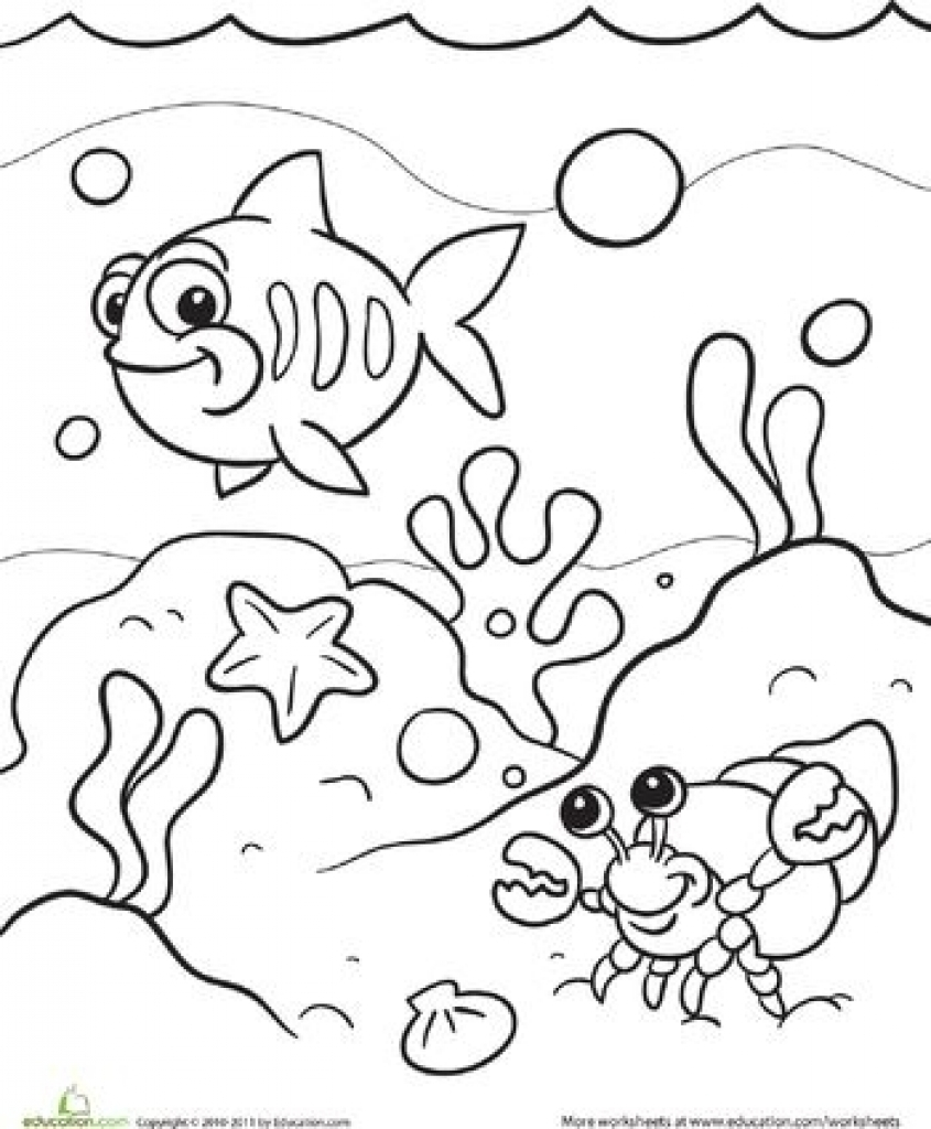 under the sea coloring under the sea coloring pages to download and print for free under sea the coloring