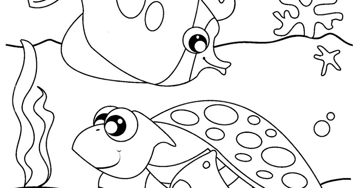 under the sea coloring under the sea creatures coloring pages and free colouring sea under coloring the