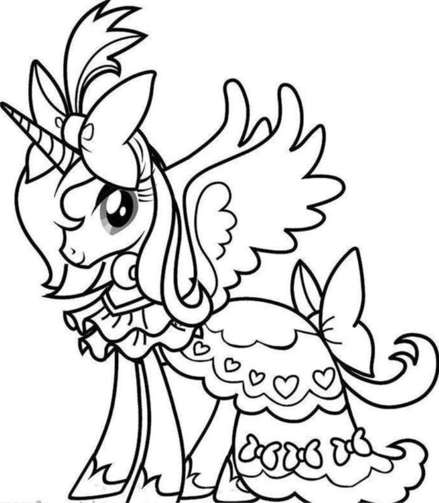 unicorn color page unicorn coloring pages to download and print for free unicorn page color 1 1