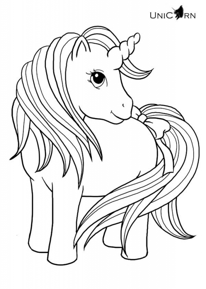 unicorn coloring to print unicorn coleriing sheet coloring pages learny kids unicorn print to coloring