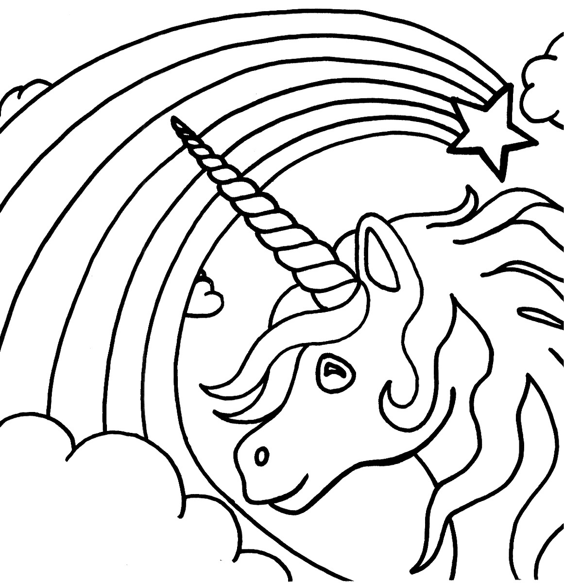 unicorn coloring unicorn drawing unicorn drawing pages at getdrawings free download unicorn drawing coloring unicorn