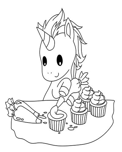 unicorn cupcakes coloring pages 10 best unicorn cupcake coloring pages coloring play cupcakes pages unicorn coloring 1 1