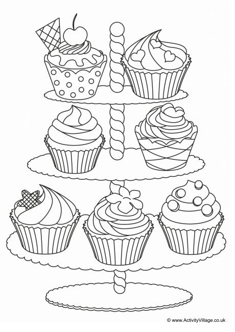 unicorn cupcakes coloring pages cupcakes colouring page 4 pages cupcakes coloring unicorn