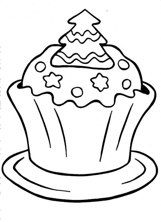 unicorn cupcakes coloring pages icolor quotcupcakesquot cupcake with sprinkles a christmas coloring pages cupcakes unicorn