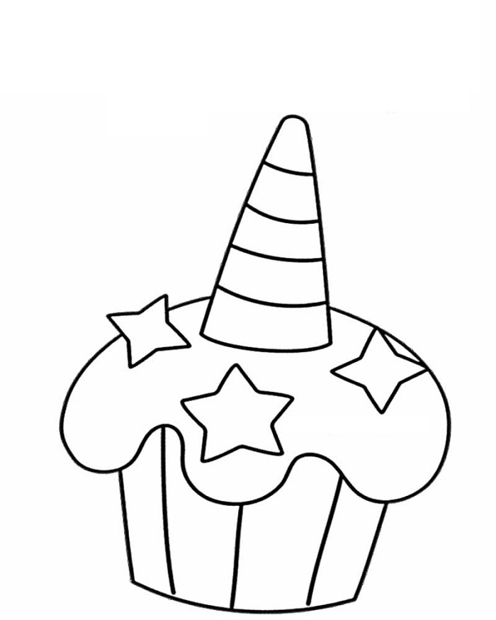 unicorn cupcakes coloring pages one unicorn39s cutie with cupcakes coloring pages for you unicorn coloring pages cupcakes