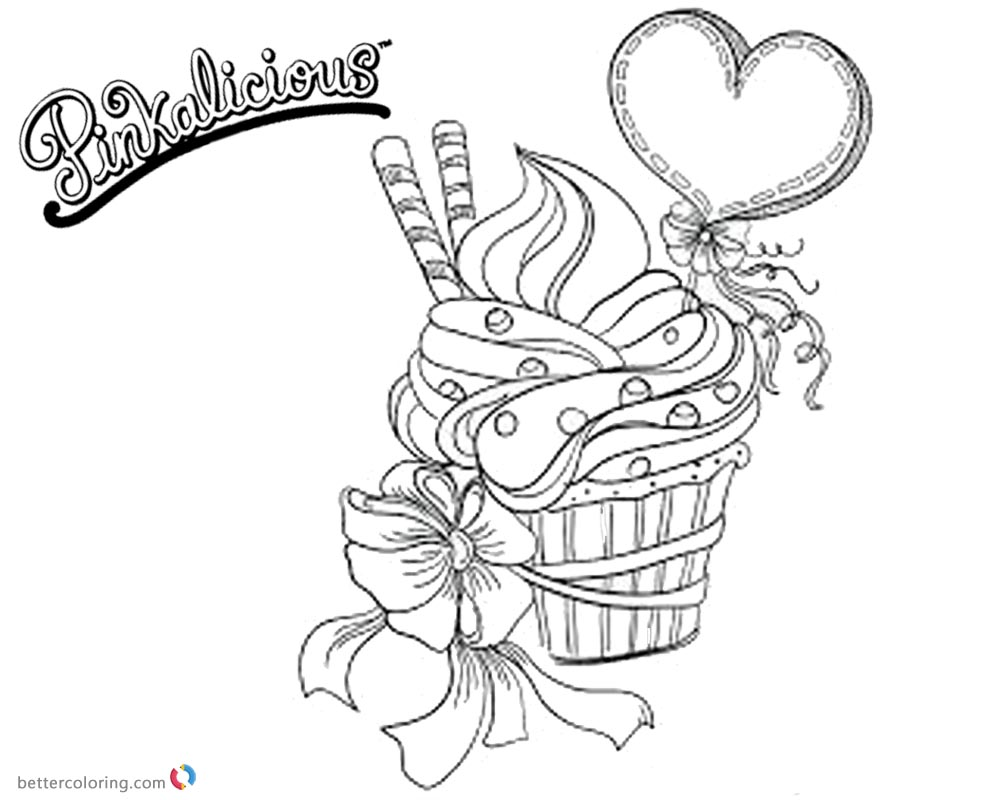 unicorn cupcakes coloring pages pinkalicious coloring pages fancy cupcake free printable coloring cupcakes pages unicorn