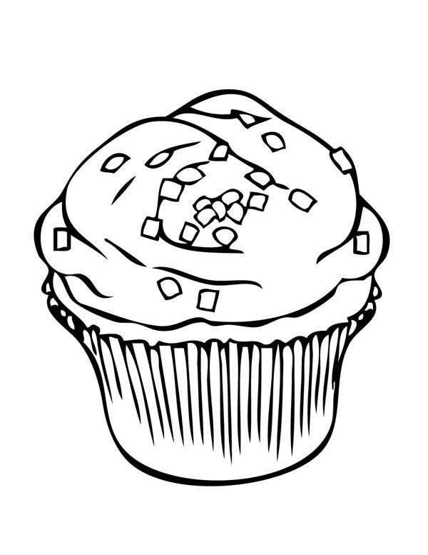 unicorn cupcakes coloring pages sprinkles topping cupcake coloring page netart di 2020 pages coloring cupcakes unicorn
