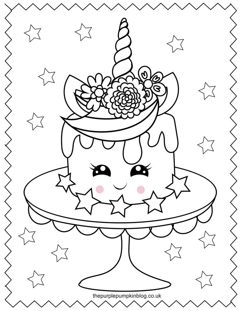 unicorn cupcakes coloring pages super sweet unicorn coloring pages free printable unicorn coloring pages cupcakes