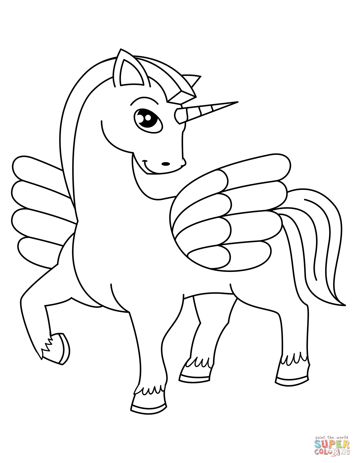 unicorn pictures for coloring unicorn coloring page for kids stock illustration coloring pictures unicorn for