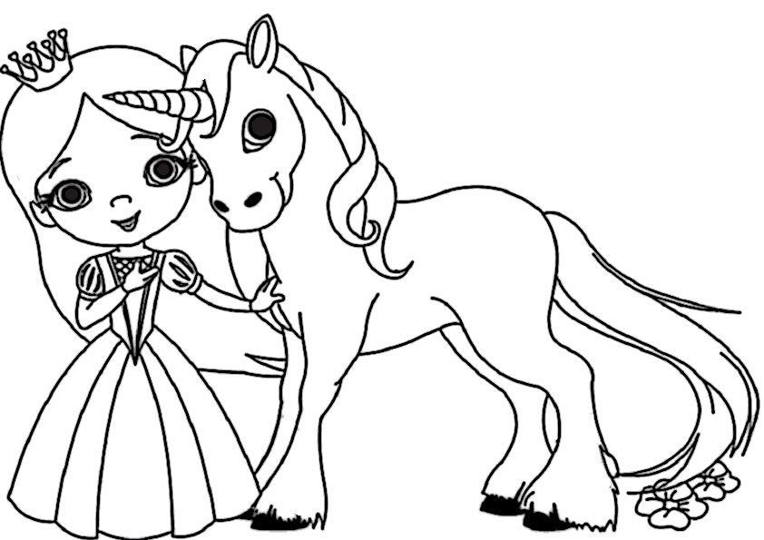unicorn princess coloring pages princess with unicorn coloring pages printable pages princess unicorn coloring