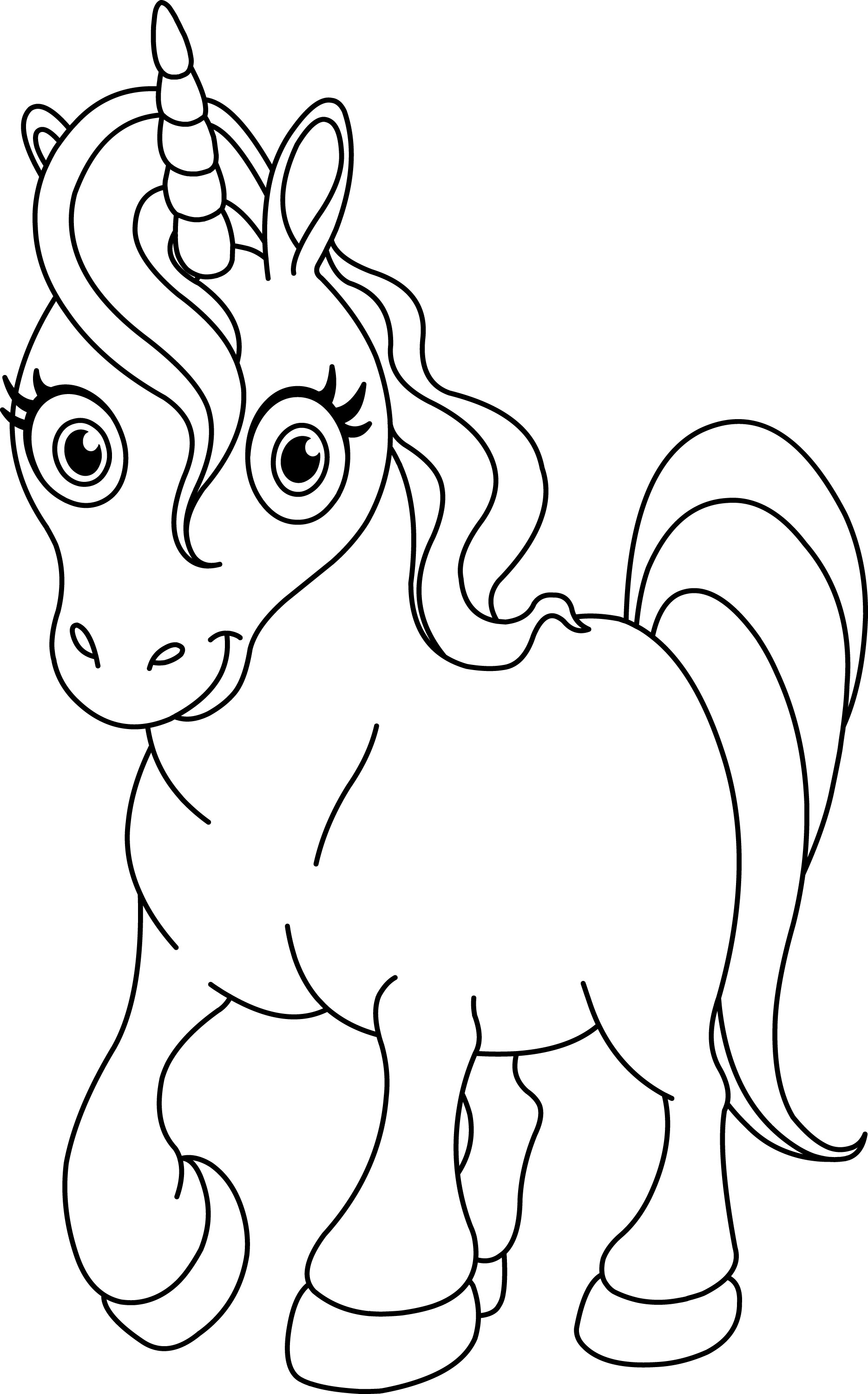 unicorn to color free printable unicorn coloring pages for kids to unicorn color
