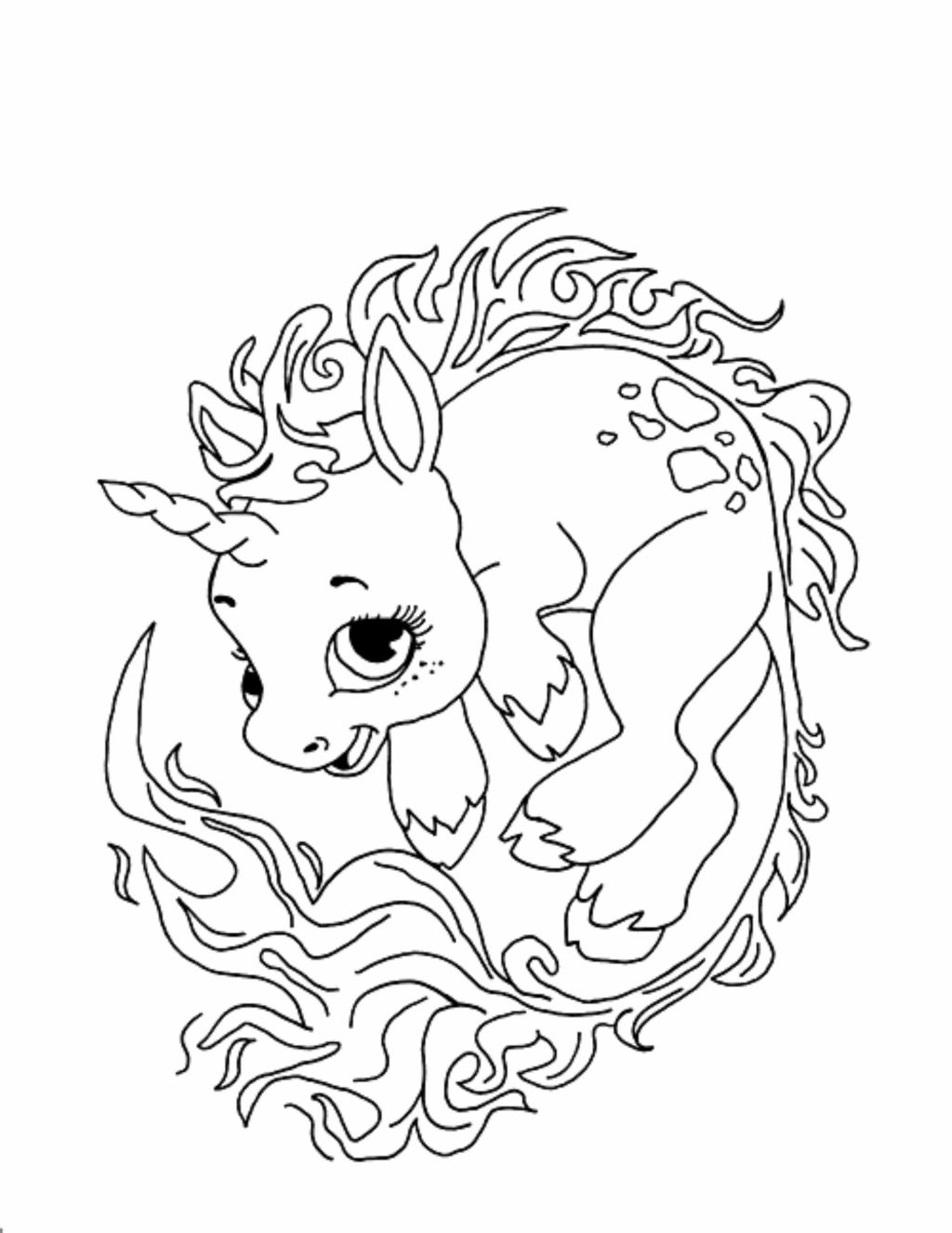 unicorn to color simple chibi unicorn coloring pages free printable color unicorn to