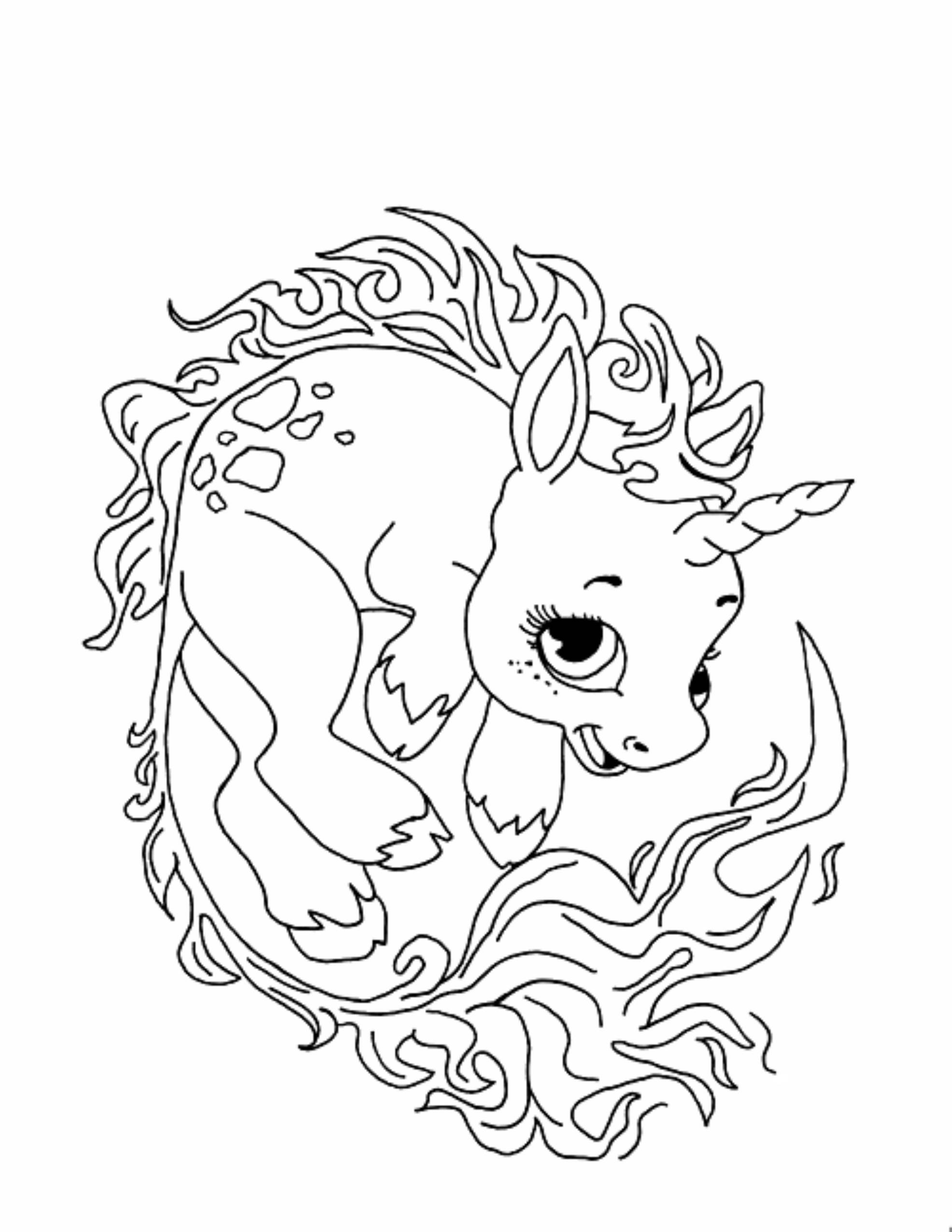 unicorn to color unicorn with bow at tail coloring page free printable color unicorn to
