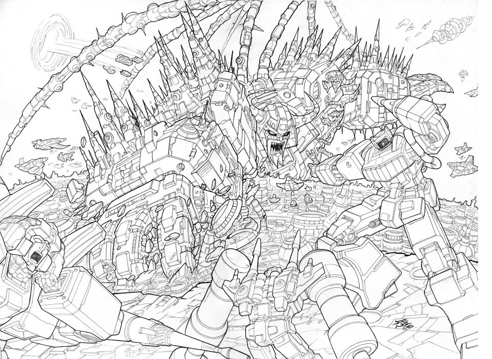 unicron transformers coloring pages how to draw sentinel prime step by step robots sci fi unicron coloring pages transformers