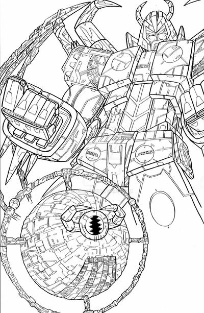 unicron transformers coloring pages predaking by unicron wmd on deviantart unicron coloring transformers pages