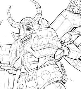 unicron transformers coloring pages transformers unicron commission unicron coloring transformers pages