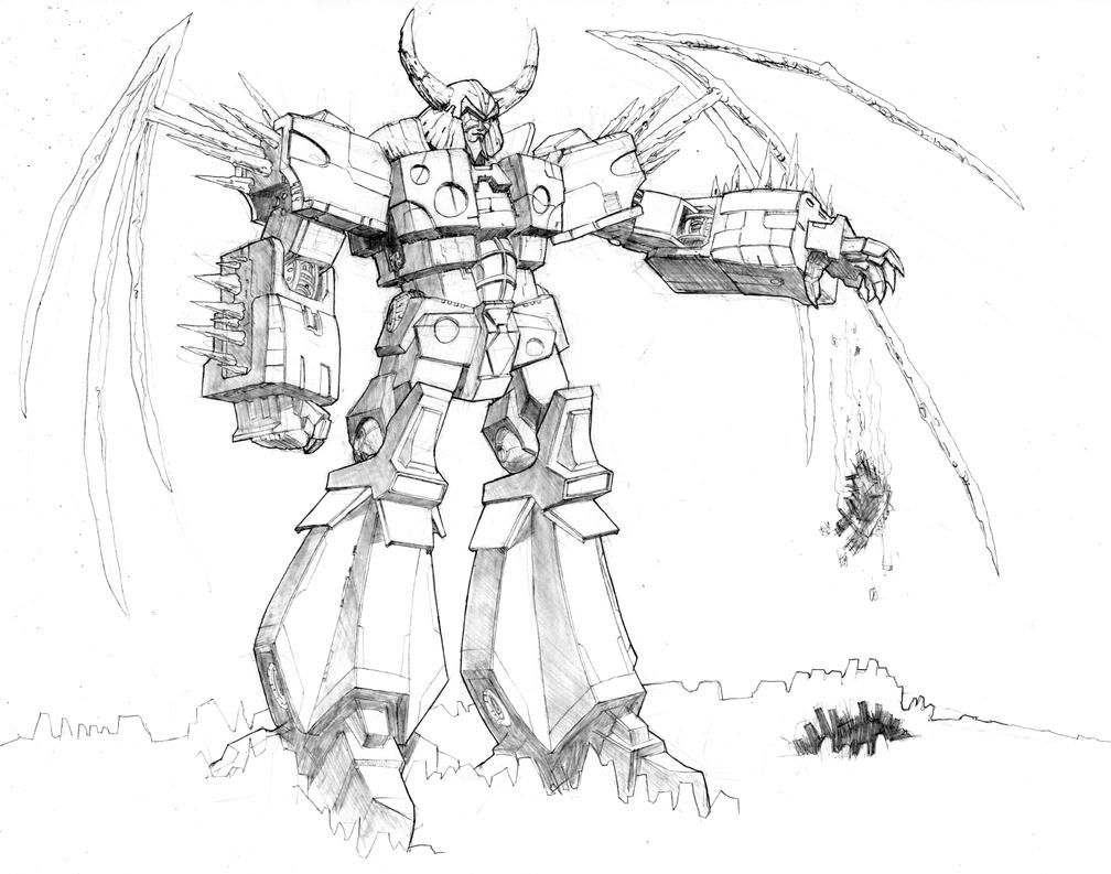 unicron transformers coloring pages unicron the chaos bringer by 1314 on deviantart unicron pages coloring transformers
