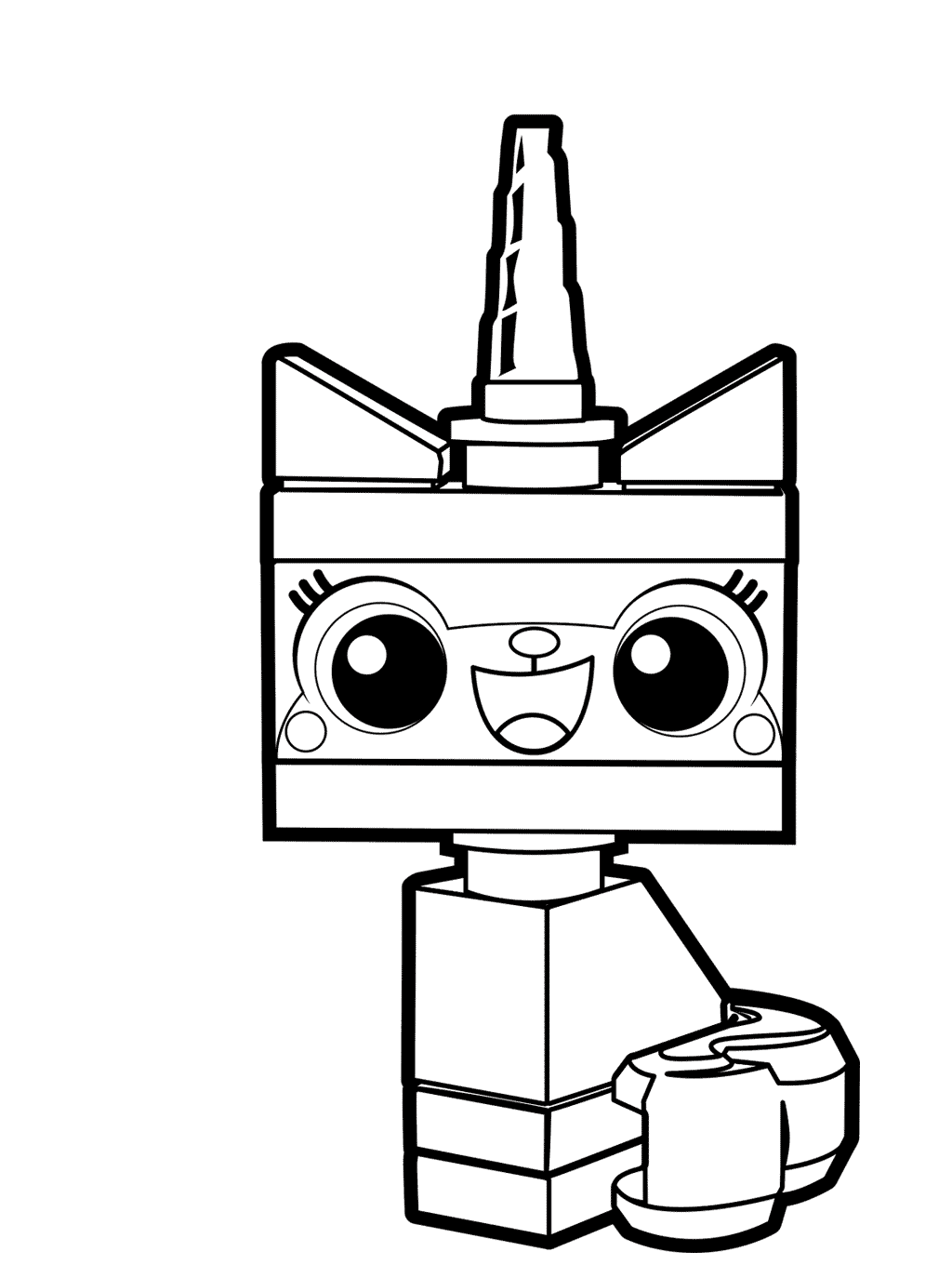 unikitty coloring sheets unikitty coloring pages at getcoloringscom free sketch unikitty coloring sheets