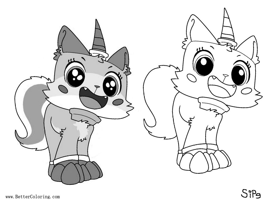 unikitty coloring sheets unikitty coloring pages line art free printable coloring coloring unikitty sheets