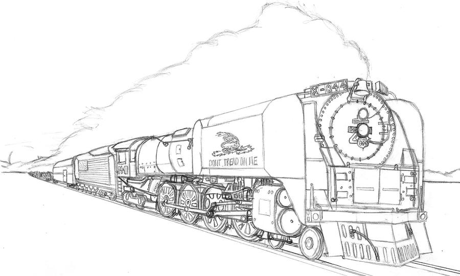 union pacific train coloring pages railroad posters of america coloring book union train pages pacific coloring
