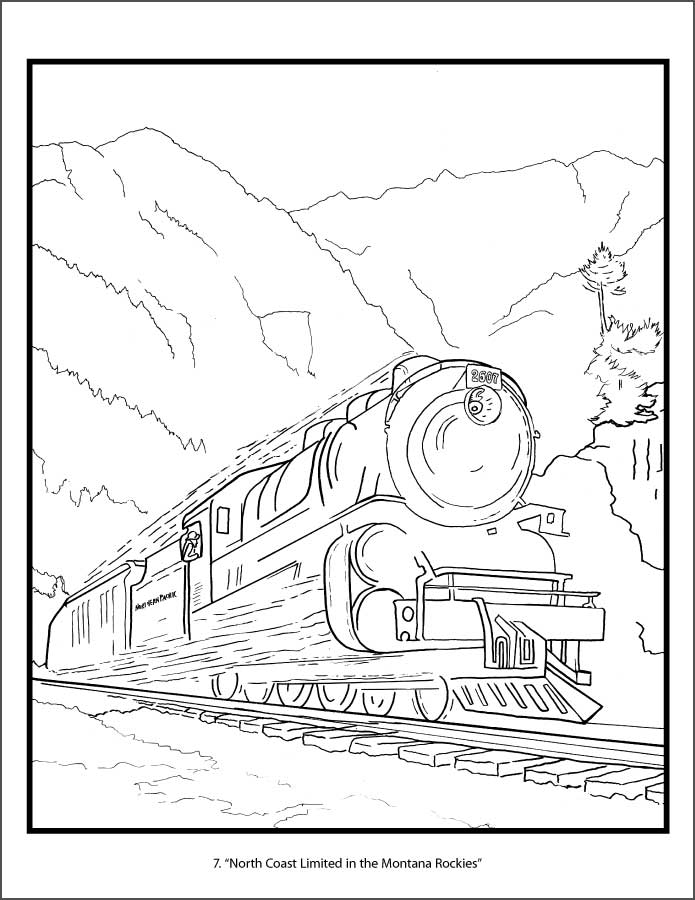 union pacific train coloring pages subway coloring page at getcoloringscom free printable pages pacific coloring union train