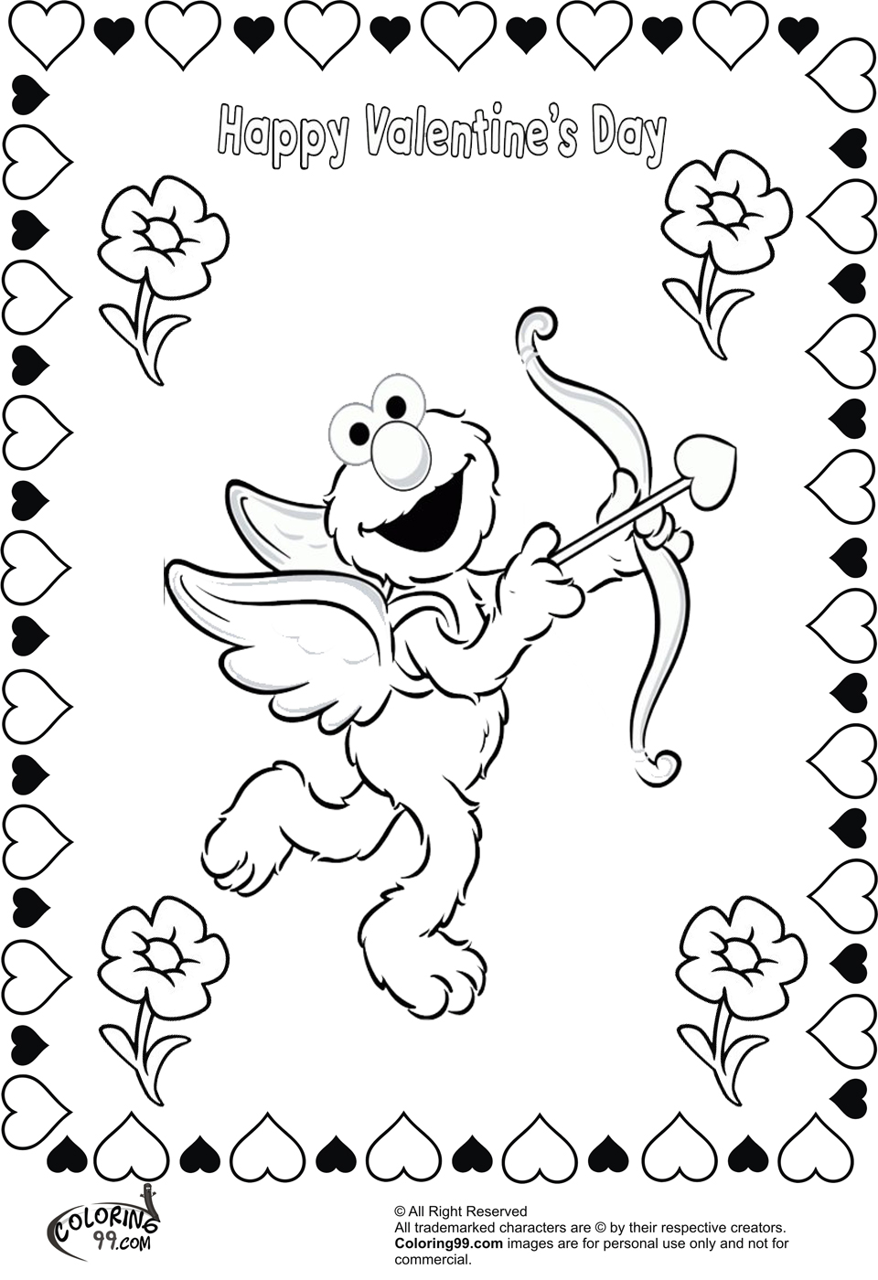 valentine day color pages free coloring pages printable pictures to color kids day color valentine pages