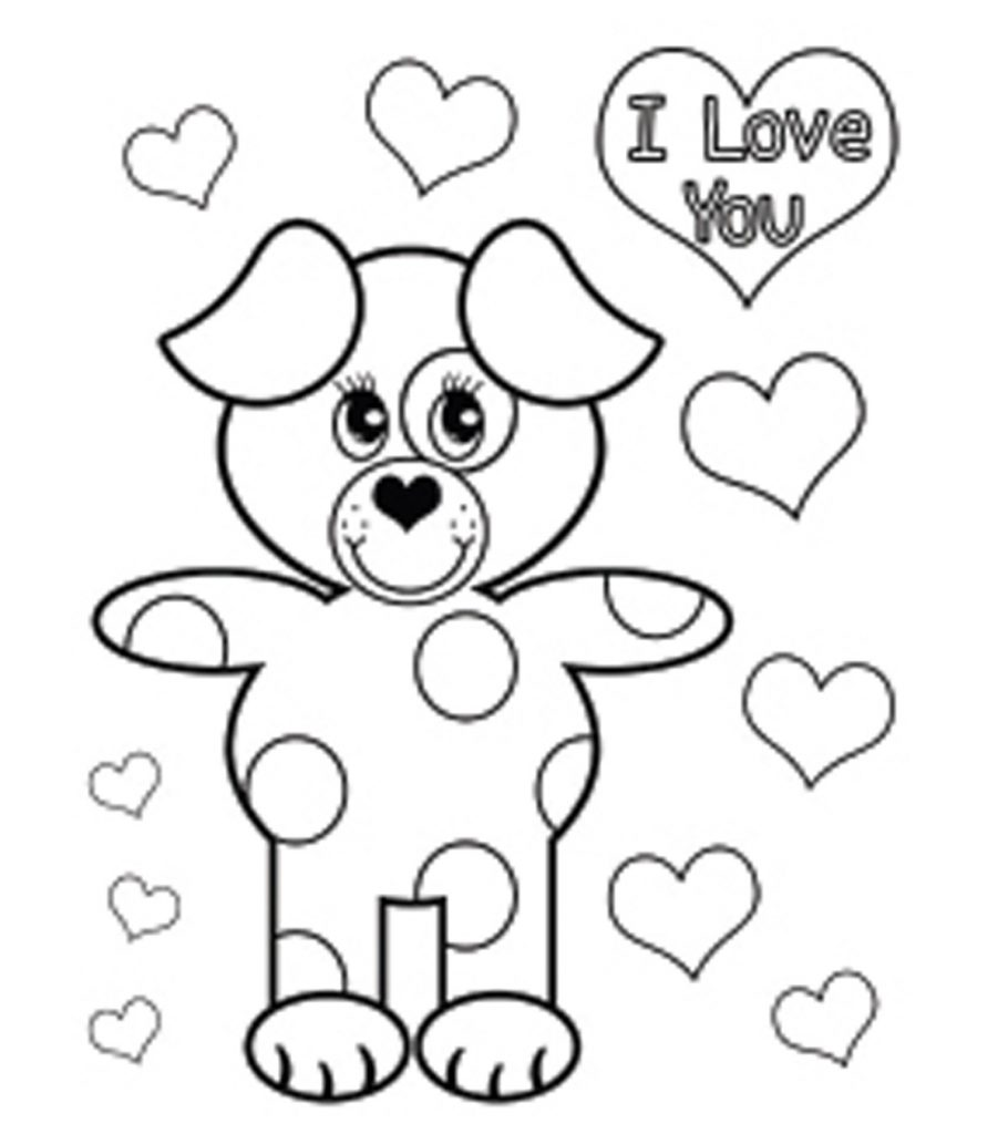 valentine day color pages free printable coloring pages valentine cards super color valentine day pages