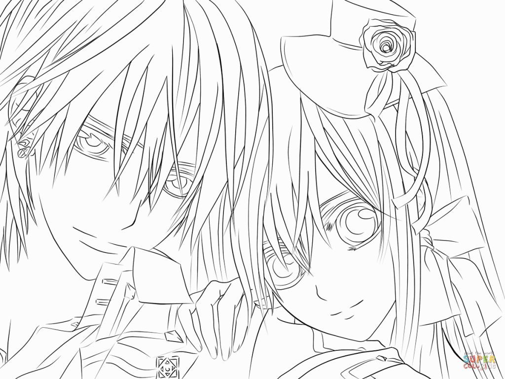 vampire knight coloring book vampire knight coloring pages at getcoloringscom free coloring vampire book knight